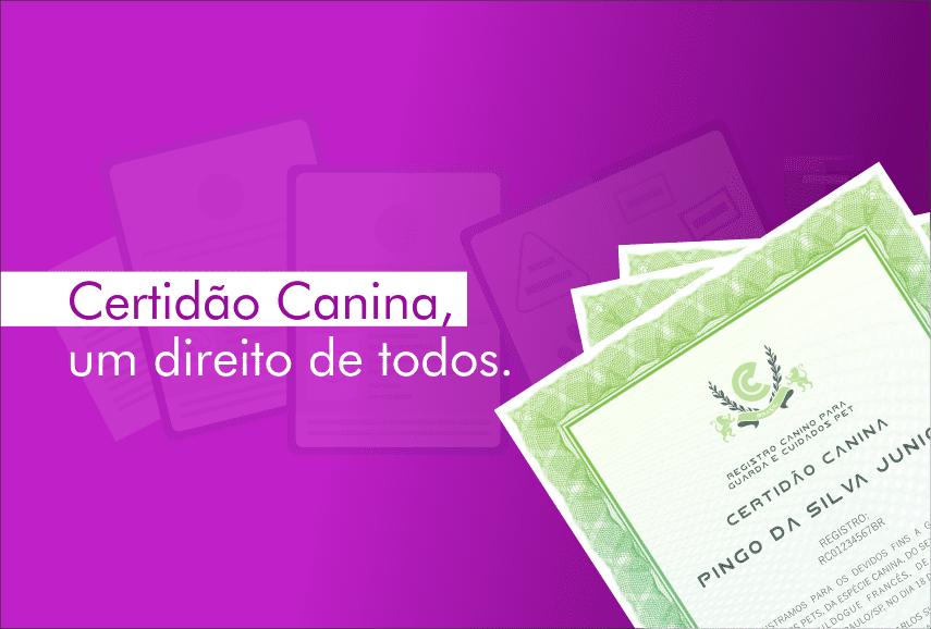 Primeiro Cartório Canino do país inaugura na segunda-feira
